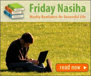 Friday Nasiha - Weekly Reminders for Successful Life